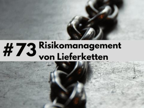 Risikomanagement von Lieferketten