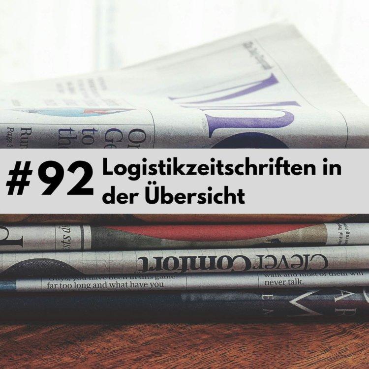 Logistik- und Verkehrszeitschriften in der Übersicht